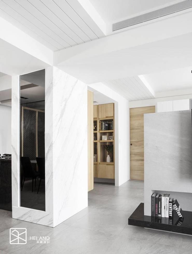 虛化柱體:  牆面 by 禾廊室內設計