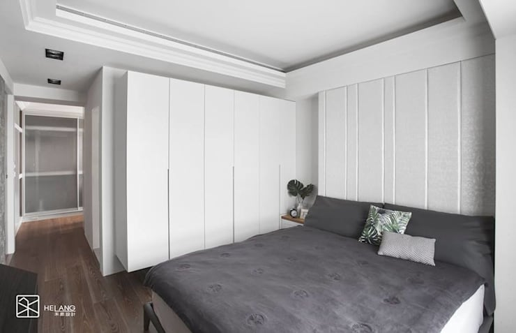 噴漆櫃體:  臥室 by 禾廊室內設計