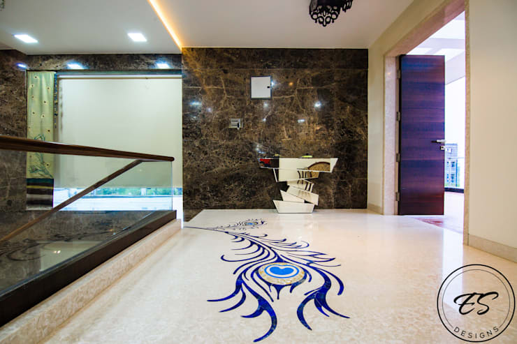 Goel's, Aanandam World City, Raipur:  Floors by ES Designs