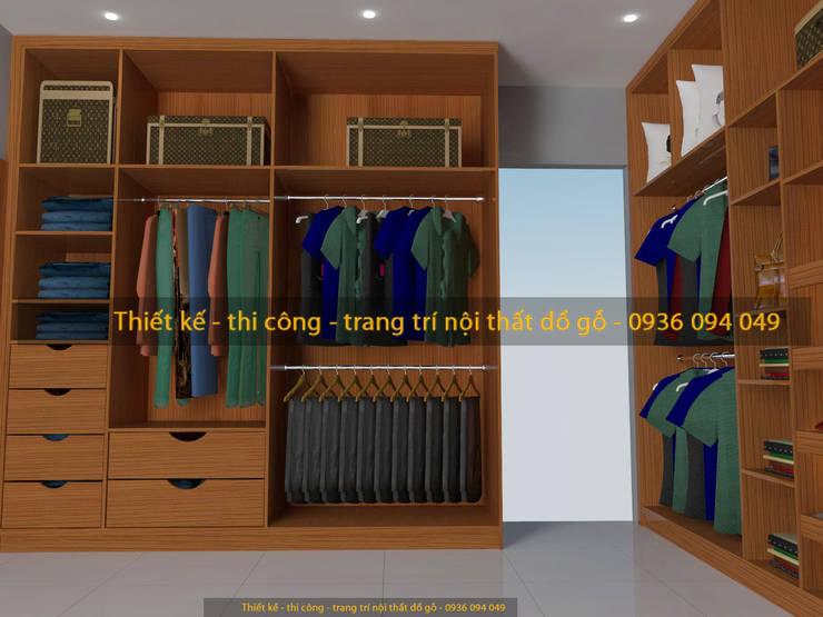 Thiết Kế:  Walls & flooring by PHÒNG THAY ĐỒ VN