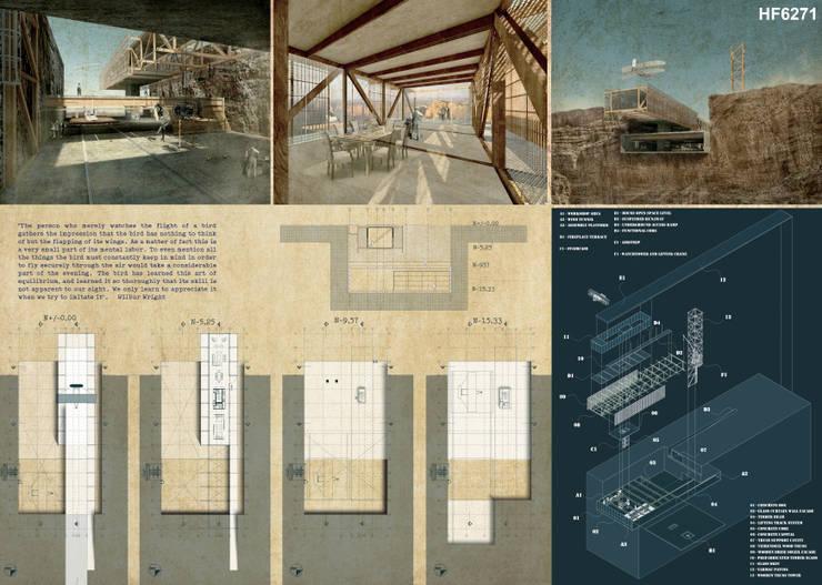 Lámina 2 Entregada:  de estilo  por Lúdico Arquitectos