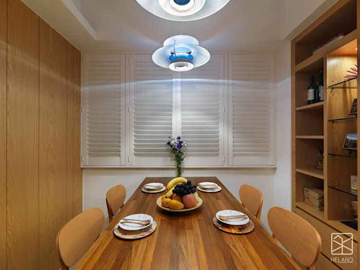 木百葉:  餐廳 by 禾廊室內設計