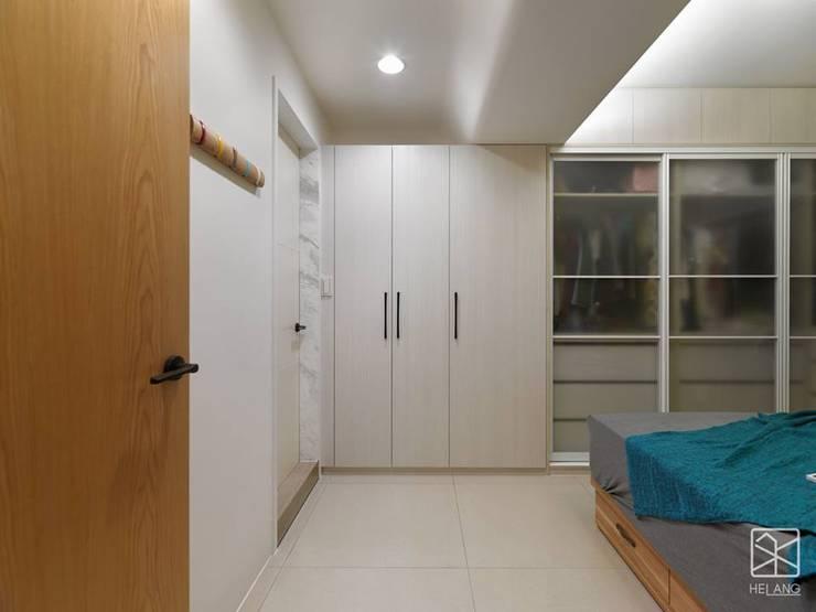 孝親房:  臥室 by 禾廊室內設計