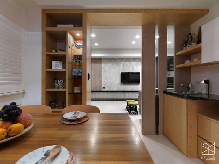 展示櫃:  餐廳 by 禾廊室內設計