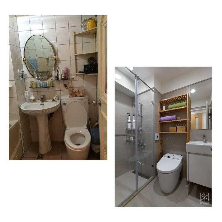 浴室:   by 禾廊室內設計