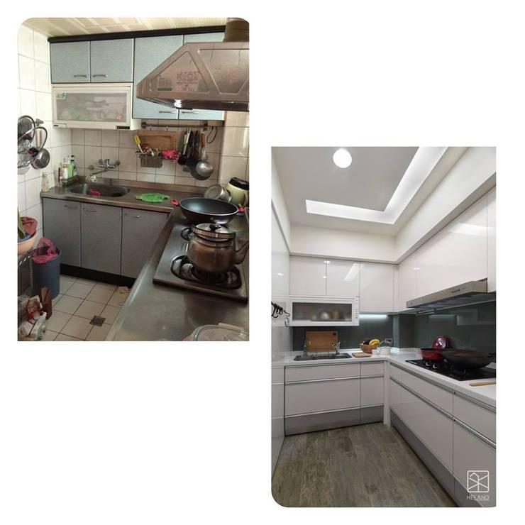 廚房:   by 禾廊室內設計