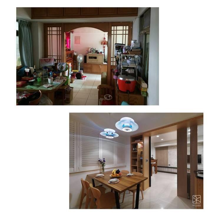 餐廳:   by 禾廊室內設計