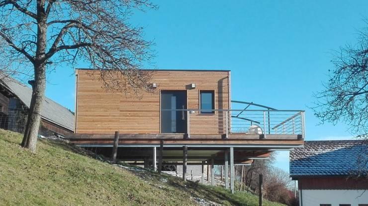 Home Module Wohnflache 61 M2 Von Casaplaner Modulhaus Schweiz Homify