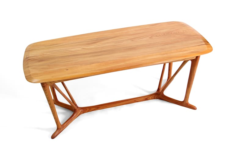 HORNOF_G (dining table ): KIMKIWON furniture의  다이닝 룸,