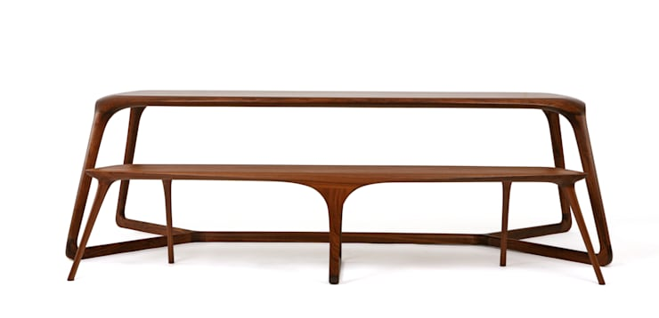 DUBU (dining table-8p): KIMKIWON furniture의 현대 ,모던