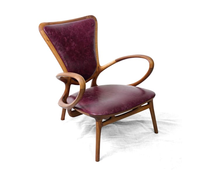 PAPILLIO (easy chair): KIMKIWON furniture의  거실