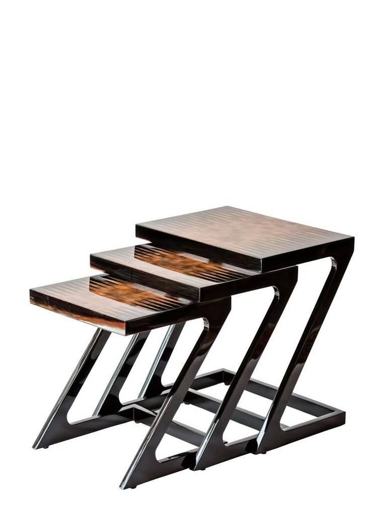 Bullhorn Nest of Tables: modern  by L'Opulence ,Modern