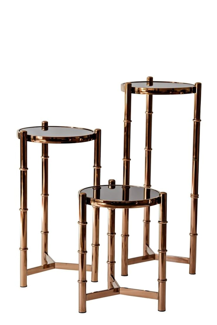 The Rosiette Nest of Tables: modern  by L'Opulence ,Modern
