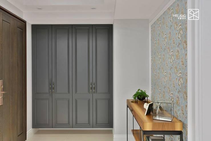 鞋櫃:  玄關、走廊與階梯 by 禾廊室內設計