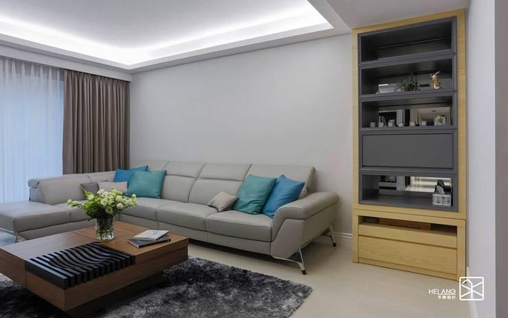 泡茶桌:  客廳 by 禾廊室內設計