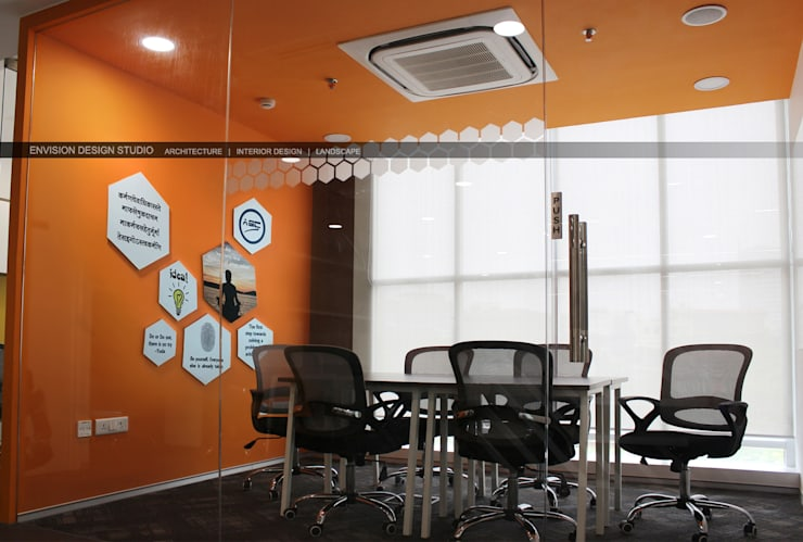 Second Floor - Meeting Room:   by Envision Design Studio