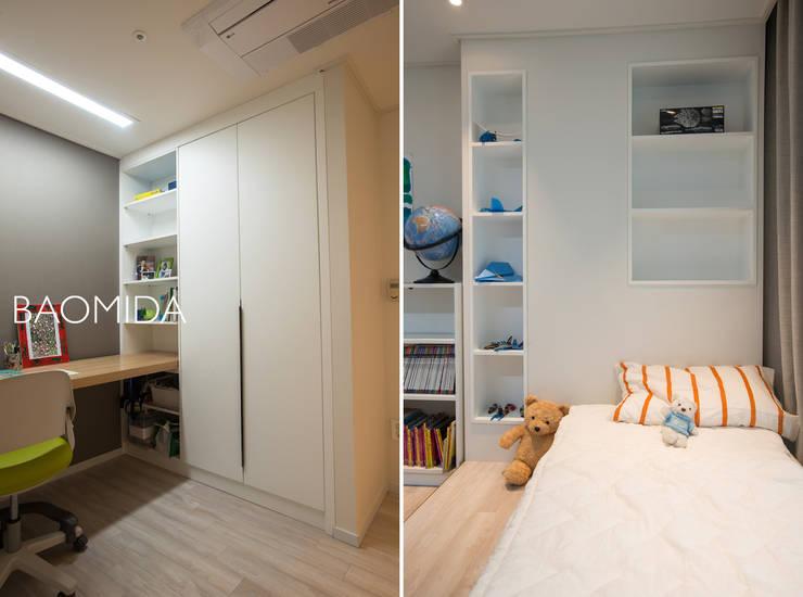 neat & tidy house_서초동 롯데캐슬클래식 인테리어: (주)바오미다의  아이방