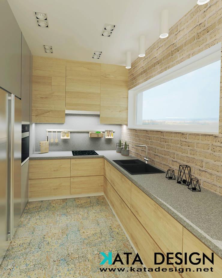 Cocinas de estilo  por Kata Design, Rústico Ladrillos
