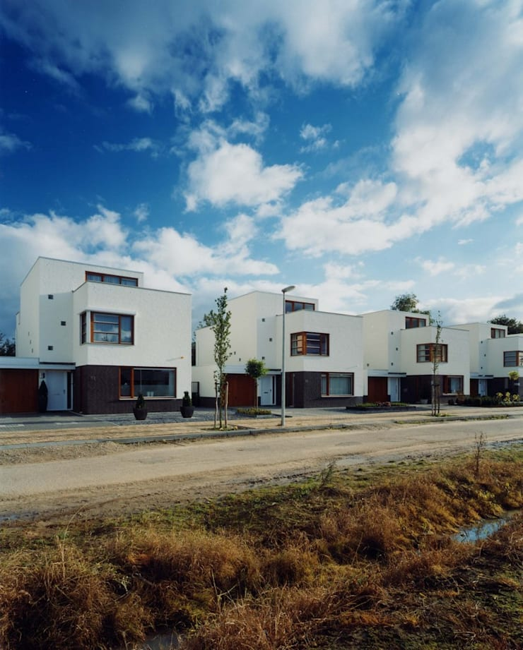 woningbouw Amstenraderveld, Brunssum:  Huizen door Verheij Architecten