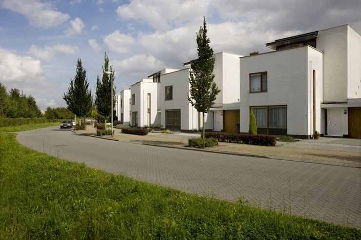 Woningbouw Amstenraderveld, Brunssum:  Huizen door Verheij Architecten BNA, Modern