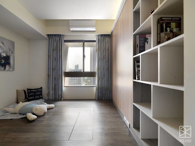 Phòng ngủ by 禾廊室內設計