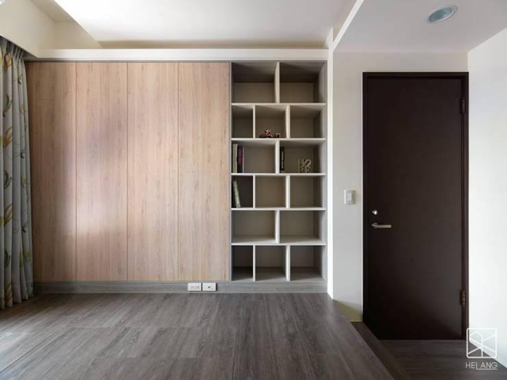 多功能室:  臥室 by 禾廊室內設計