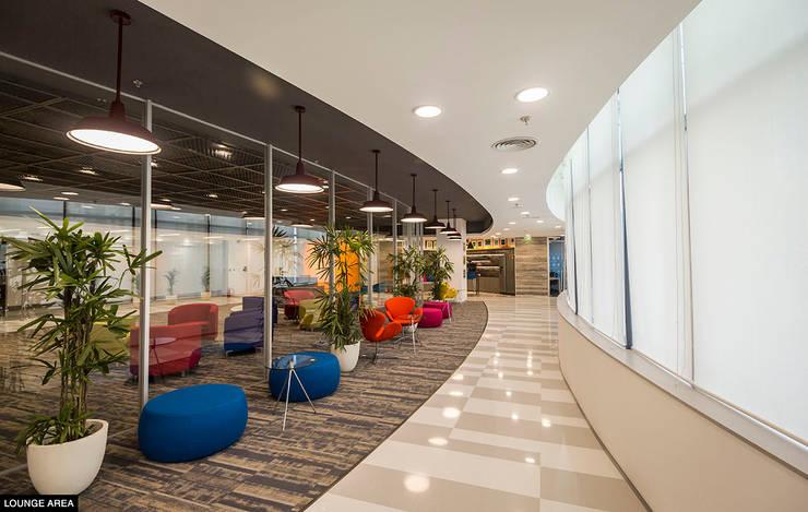 Lounge Area:   by Basics Architects