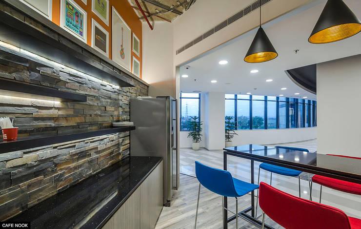 Cafe Nook:   by Basics Architects