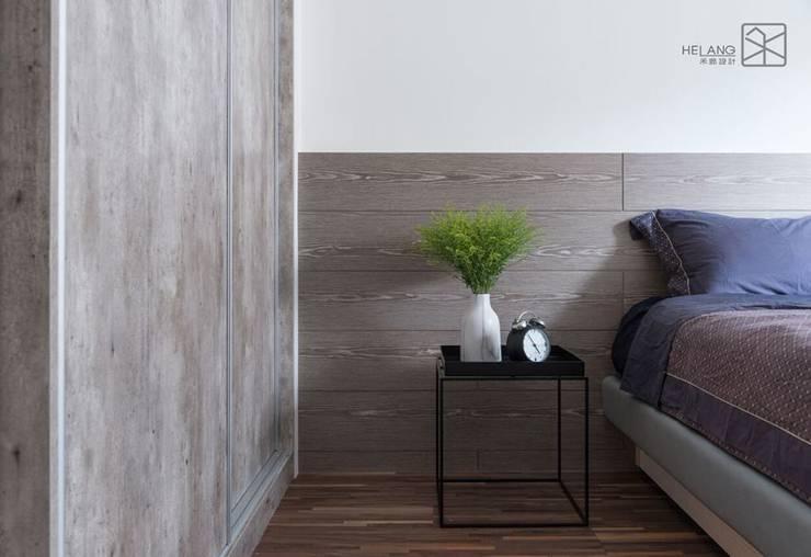 床頭板:  臥室 by 禾廊室內設計