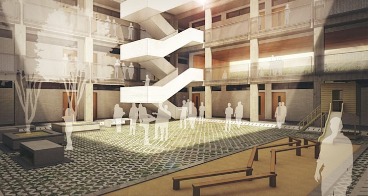 Senior Court :   by Basics Architects