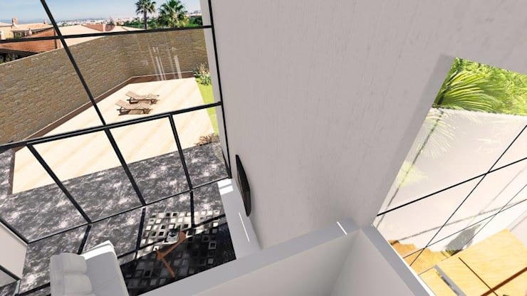Living room by ArqClub - Studio de Arquitetura, Modern
