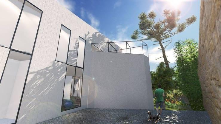 Single family home by ArqClub - Studio de Arquitetura, Modern