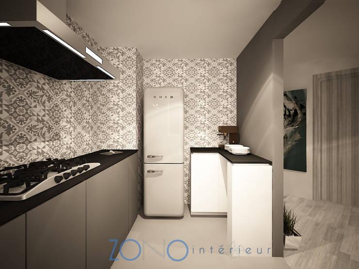Cocina: Cocinas de estilo  por Zono Interieur