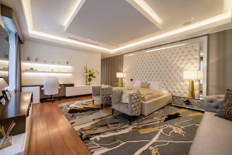 Casa T : Dormitorios de estilo  por Gracia Nano Studio