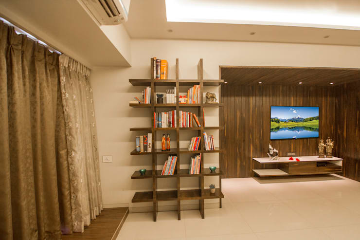 Library :  Living room by A Design Studio