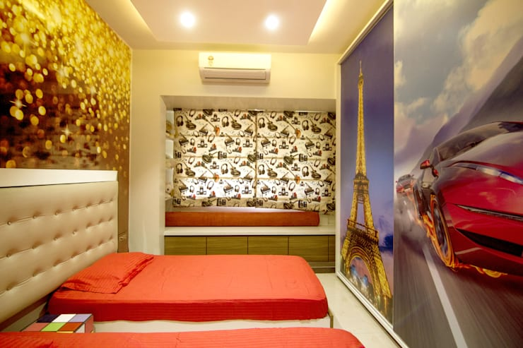 Kids Bedroom:  Bedroom by A Design Studio