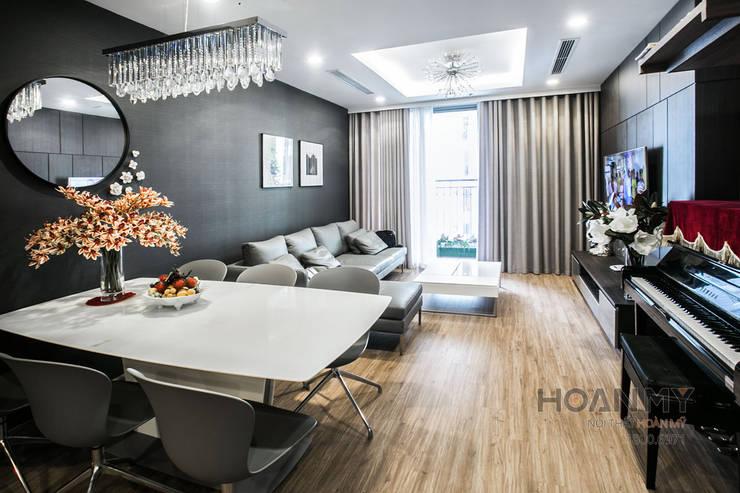 Thiết kế nội thất phòng khách:  Phòng khách by Thương hiệu Nội Thất Hoàn Mỹ