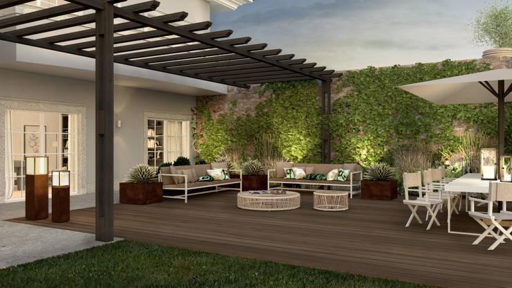 حديقة تنفيذ MRS - Interior Design