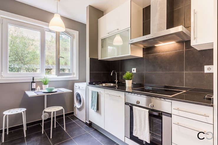 Kitchen by CCVO Design and Staging