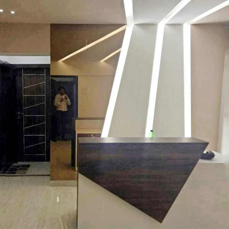 Contemporary reception:  Commercial Spaces by L V Designs