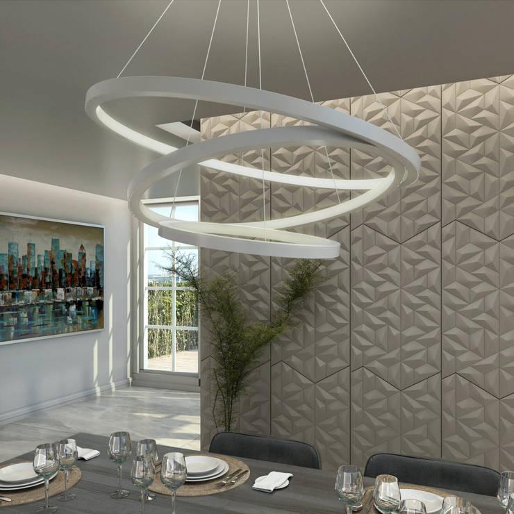 Sala da pranzo in stile  di Gabriela Afonso