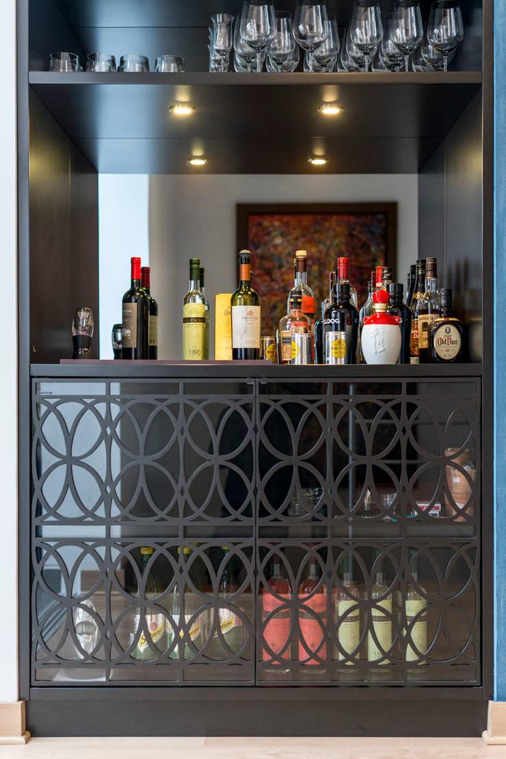 Ampliación Duplex Barranco : Salas / recibidores de estilo  por Gracia Nano Studio