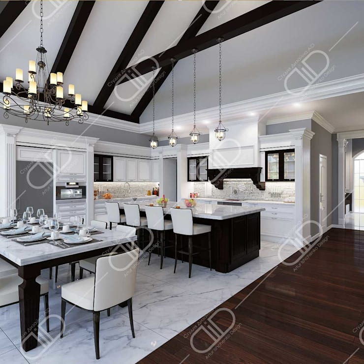 Traditional interior:  Kitchen by Design Studio AiD
