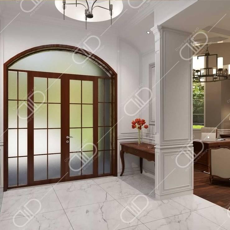 Traditional interior:  Corridor & hallway by Design Studio AiD