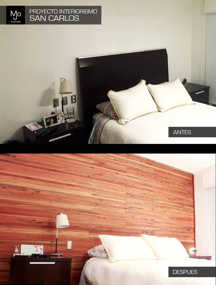 Proyecto Interiorismo casa PC - San Carlos de Apoquindo.:  de estilo  por MJO ArqDesign