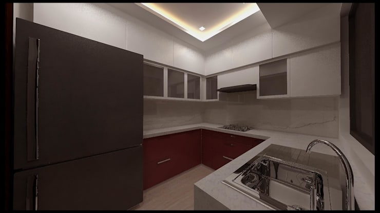 Mr. Dangat:  Kitchen by New Space Interior