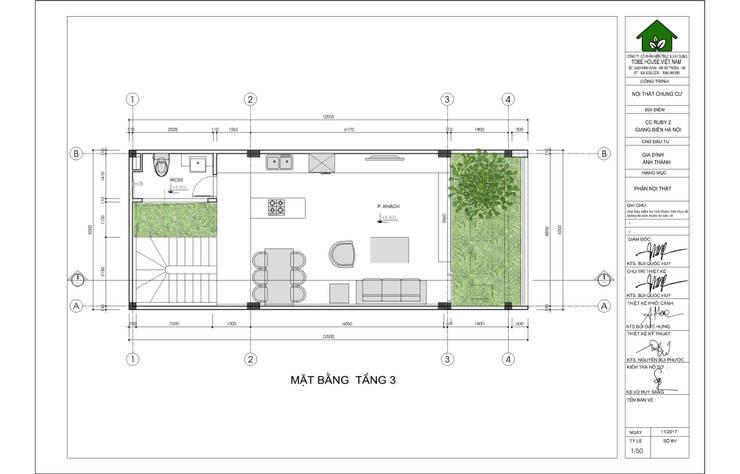Linh House – Linh Đàm:   by Công ty cổ phần kiến trúc và nội thất Tobehouse Việt Nam