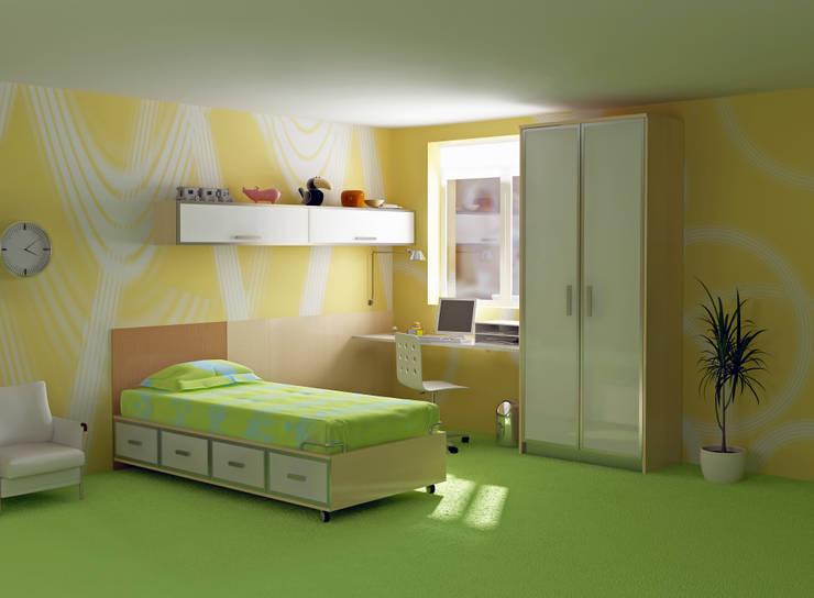 Regalias Interio:  Nursery/kid's room by Regalias Interio,Modern