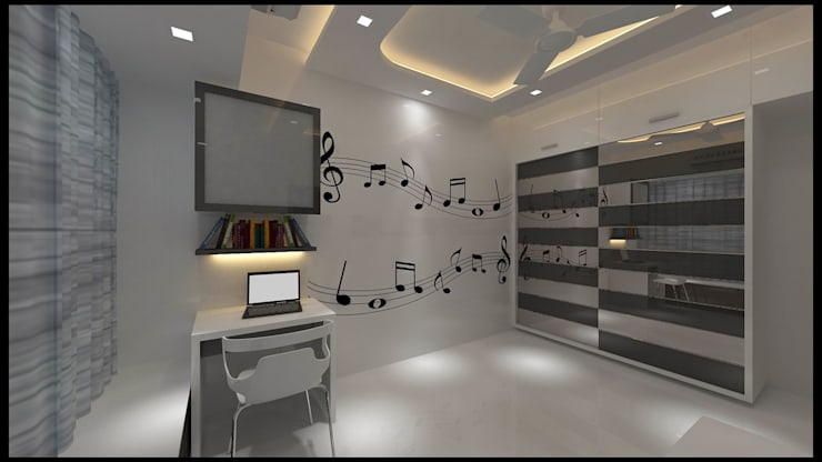 1bhk:   by New Space Interior