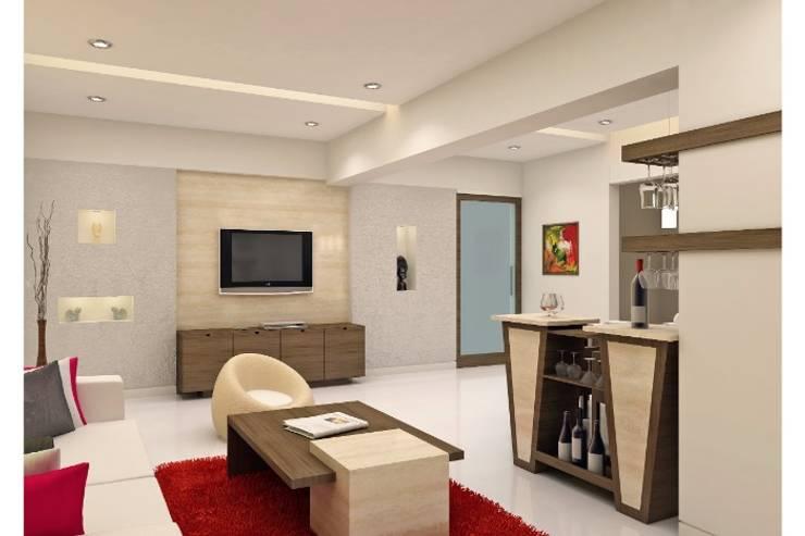 MMinteriors:  Living room by MMinteriors